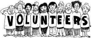 volunteers cartoon