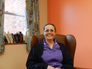 Ward 9 specialist nurse - Lyndsey